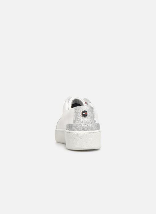 Sneakers Tommy Hilfiger GLITTER DETAIL DRESS SNEAKER Hvid Se fra højre
