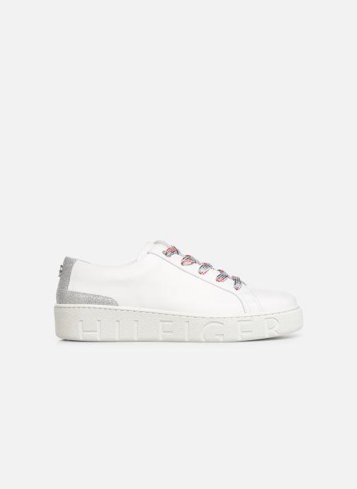 Sneakers Tommy Hilfiger GLITTER DETAIL DRESS SNEAKER Hvid se bagfra