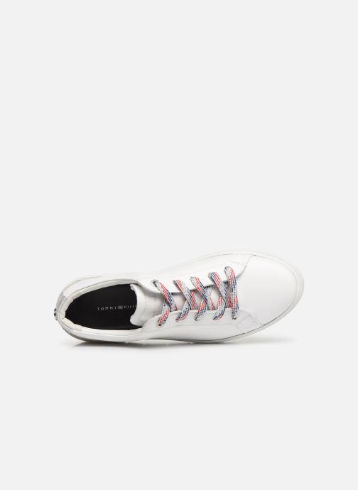 Sneakers Tommy Hilfiger GLITTER DETAIL DRESS SNEAKER Hvid se fra venstre
