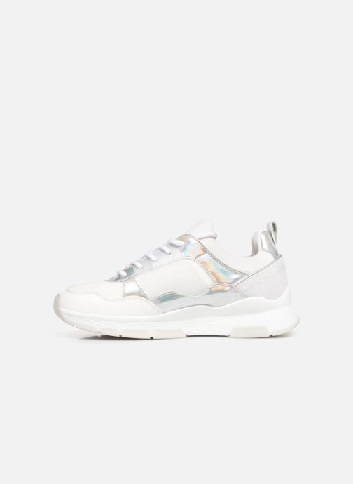 Sneakers Tommy Hilfiger LIFESTYLE IRIDESCENT SNEAKER Hvid se forfra