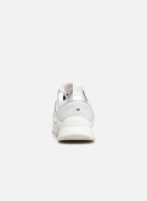 Trainers Tommy Hilfiger LIFESTYLE IRIDESCENT SNEAKER White view from the right
