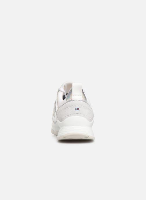 Sneakers Tommy Hilfiger LIFESTYLE IRIDESCENT SNEAKER Hvid Se fra højre