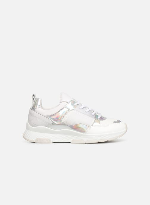 Sneakers Tommy Hilfiger LIFESTYLE IRIDESCENT SNEAKER Hvid se bagfra