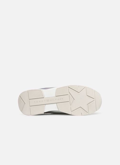 Sneakers Tommy Hilfiger LIFESTYLE IRIDESCENT SNEAKER Hvid se foroven