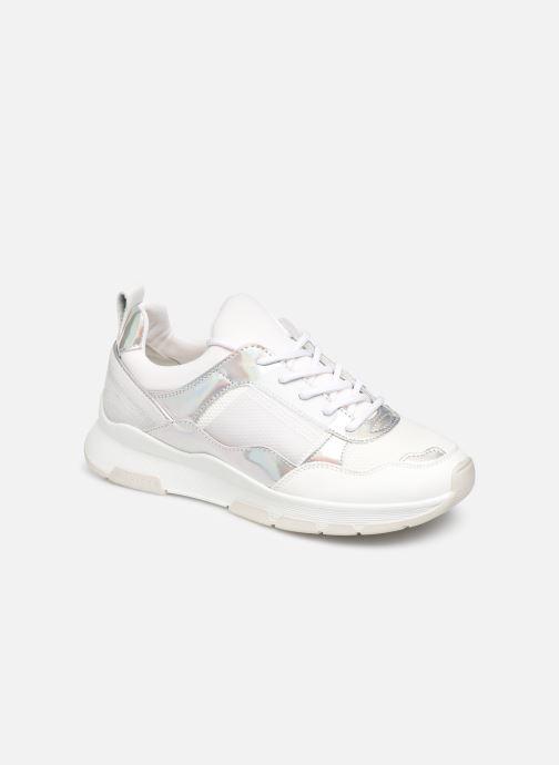 Sneakers Tommy Hilfiger LIFESTYLE IRIDESCENT SNEAKER Hvid detaljeret billede af skoene