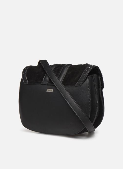 Handtassen Pepe jeans ARYA BAG Zwart rechts
