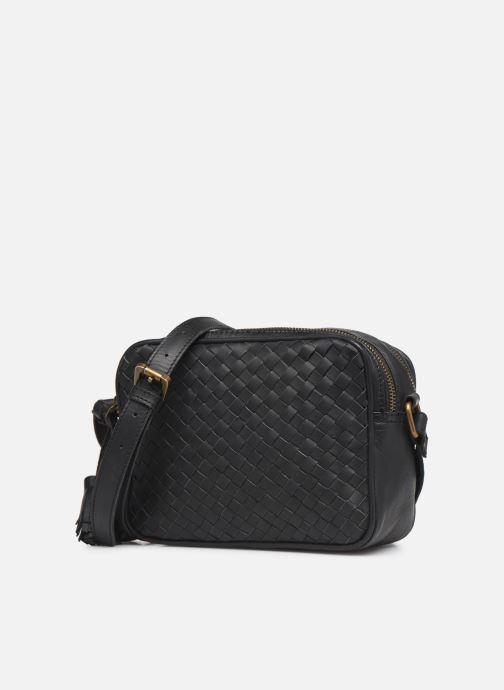 Handtassen Pepe jeans VELA LEATHER BAG Zwart model