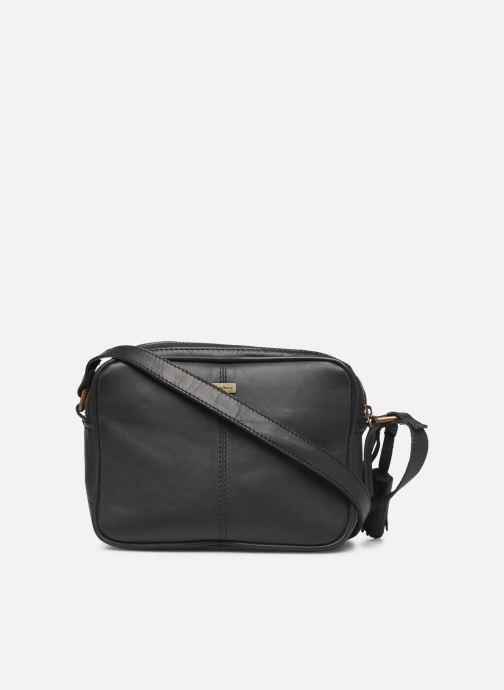 Handtassen Pepe jeans VELA LEATHER BAG Zwart voorkant