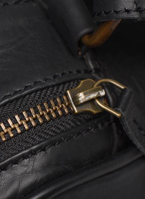 Handtaschen Pepe jeans VELA LEATHER BAG schwarz ansicht von links