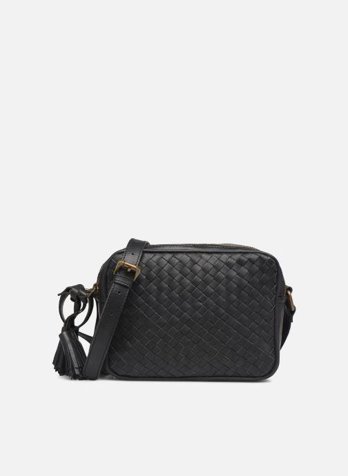 Handtassen Pepe jeans VELA LEATHER BAG Zwart detail