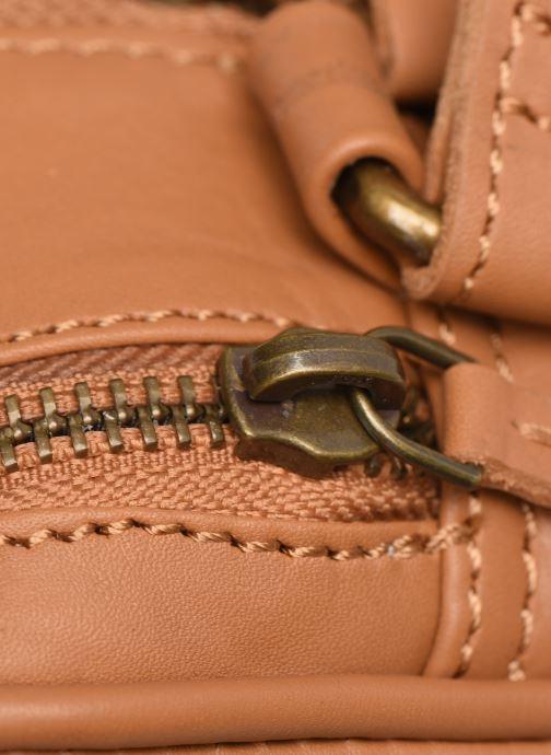 Sacs à main Pepe jeans VELA LEATHER BAG Marron vue gauche