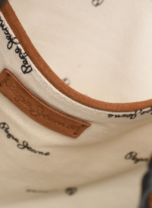 Sacs à main Pepe jeans ARLET LEATHER BAG Marron vue bas / vue portée sac