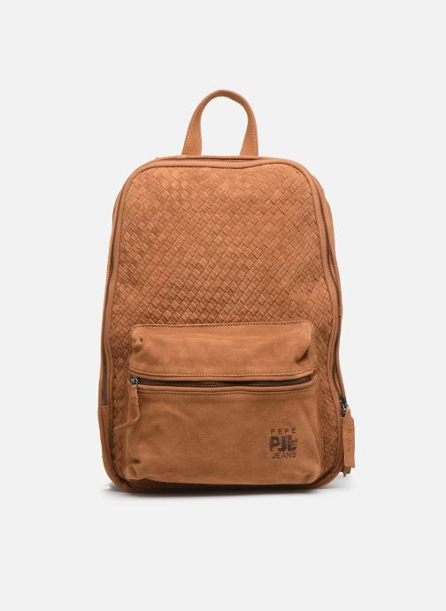 Sacs à dos Pepe jeans BELENO LEATHER BACKPACK Marron vue détail/paire