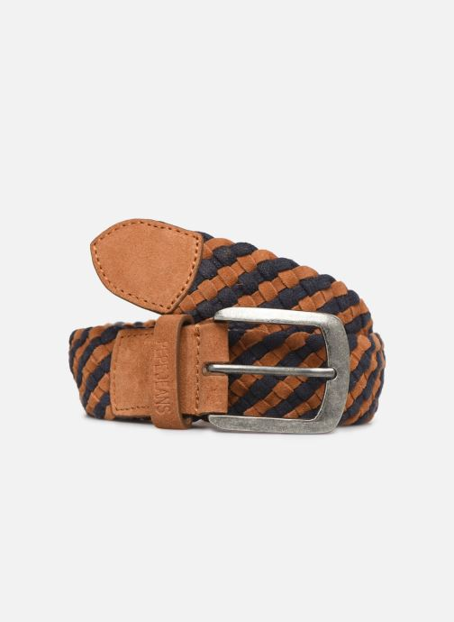 Ceintures Pepe jeans PEÑO LEATHER BELT Marron vue détail/paire