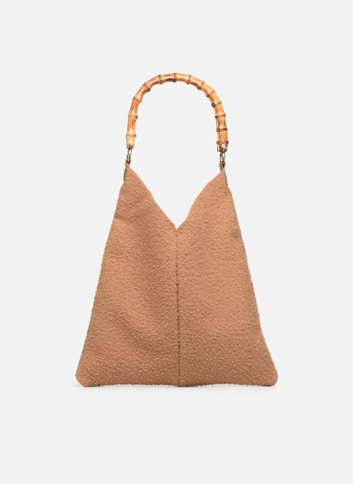 Handbags Arron CASENTINO Brown front view