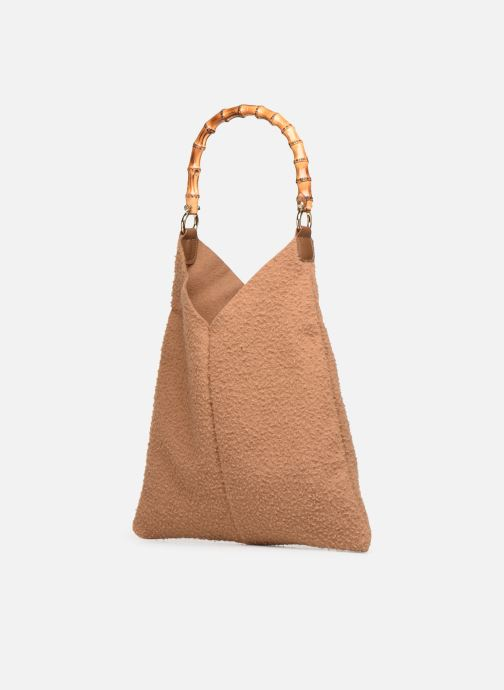 Handbags Arron CASENTINO Brown view from the right