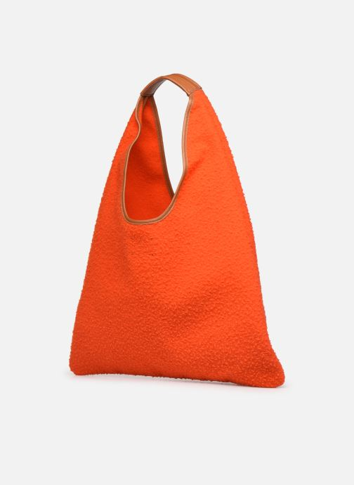 Sacs à main Arron CASENTINO Orange vue droite