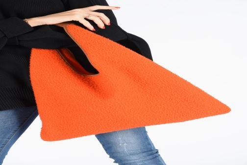 Sacs à main Arron CASENTINO Orange vue bas / vue portée sac