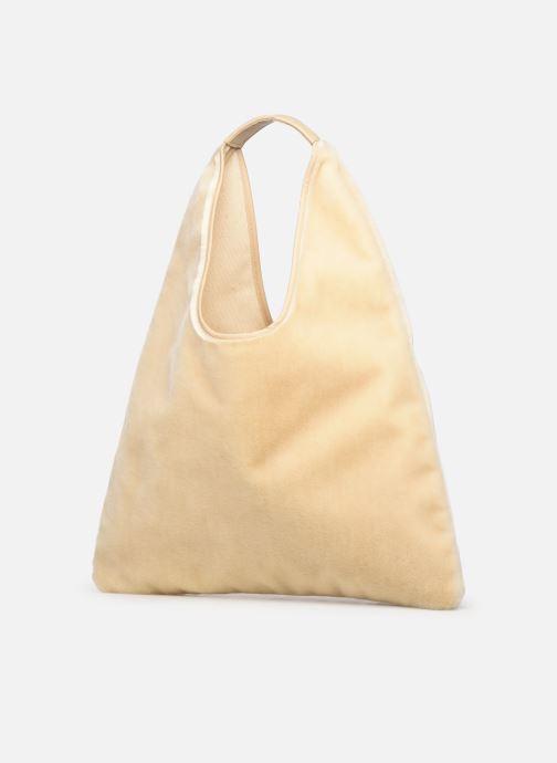 Handbags Arron FAKE REX Beige model view