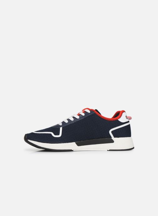Trainers Tommy Hilfiger TECHNICAL DETAILS FLEXI SNEAKER Blue front view