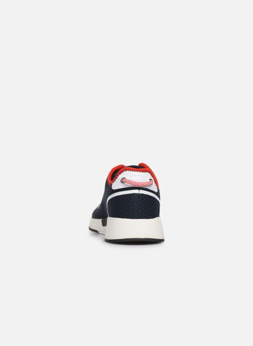 Trainers Tommy Hilfiger TECHNICAL DETAILS FLEXI SNEAKER Blue view from the right