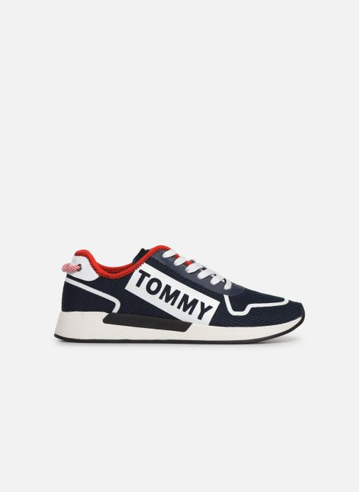 Trainers Tommy Hilfiger TECHNICAL DETAILS FLEXI SNEAKER Blue back view