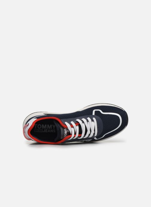 Trainers Tommy Hilfiger TECHNICAL DETAILS FLEXI SNEAKER Blue view from the left