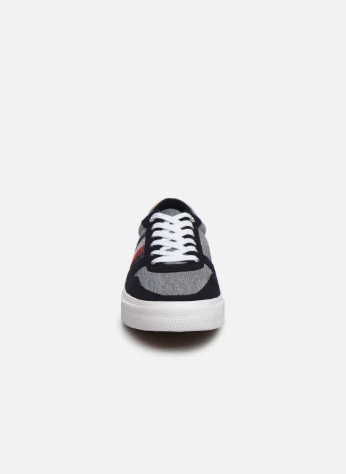 Baskets Tommy Hilfiger CORE CRAFT VULC SNEAKER Bleu vue portées chaussures