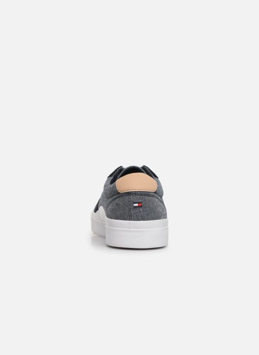 Baskets Tommy Hilfiger CORE CRAFT VULC SNEAKER Bleu vue droite