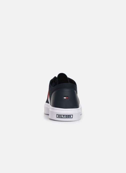 Sneakers Tommy Hilfiger LIGHTWEIGHT KNIT FLAG SNEAKER Blauw rechts