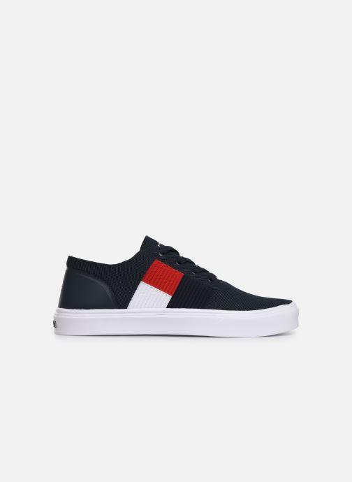Sneakers Tommy Hilfiger LIGHTWEIGHT KNIT FLAG SNEAKER Blauw achterkant