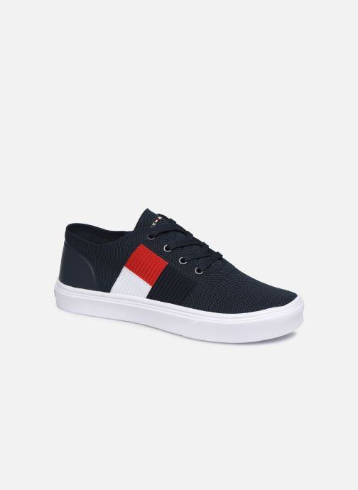 Sneakers Tommy Hilfiger LIGHTWEIGHT KNIT FLAG SNEAKER Blauw detail