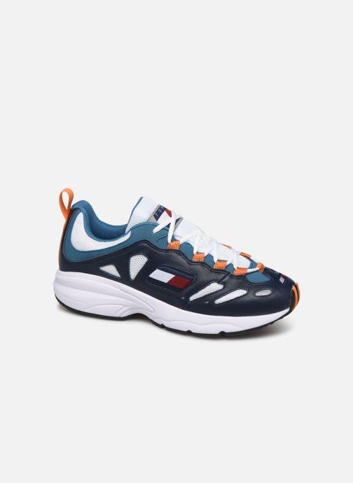 Sneakers Tommy Hilfiger TOMMY JEANS RETRO SNEAKER Blå detaljeret billede af skoene