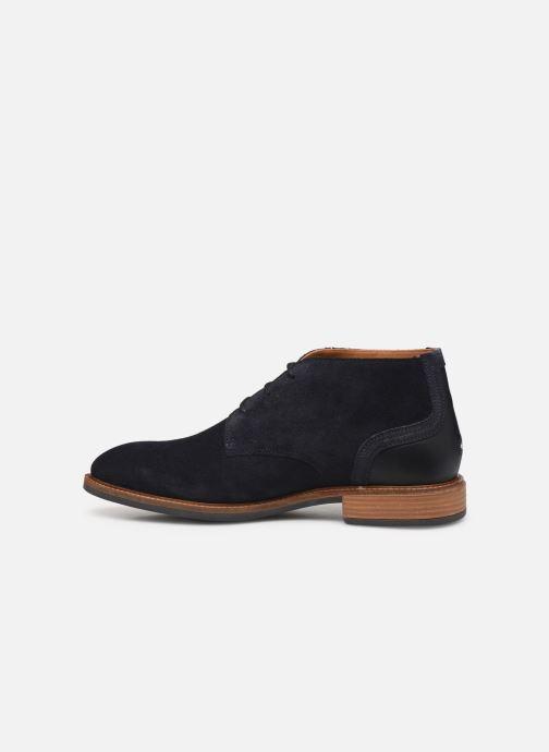 Boots en enkellaarsjes Tommy Hilfiger ELEVATED MATERIAL MIX BOOT Blauw voorkant