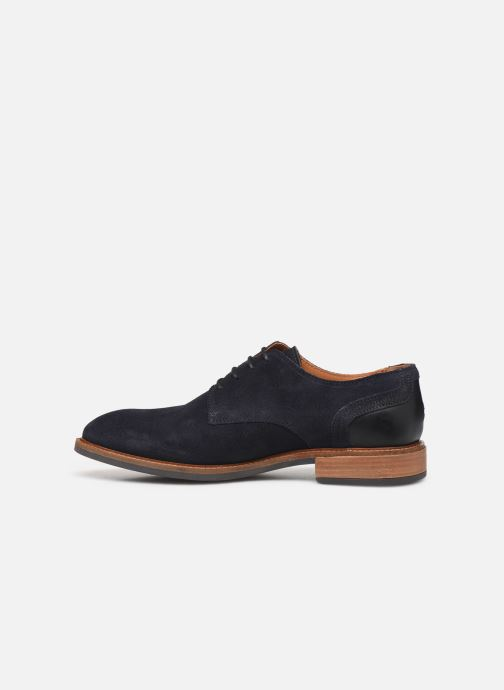 Chaussures à lacets Tommy Hilfiger ELEVATED MATERIAL MIX SHOE Bleu vue face