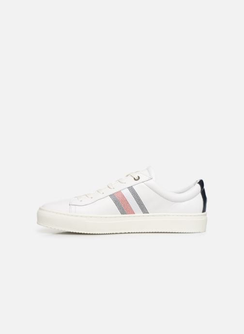 Sneakers Tommy Hilfiger CLEAN PREMIUM CORPORATE CUPSOLE Hvid se forfra