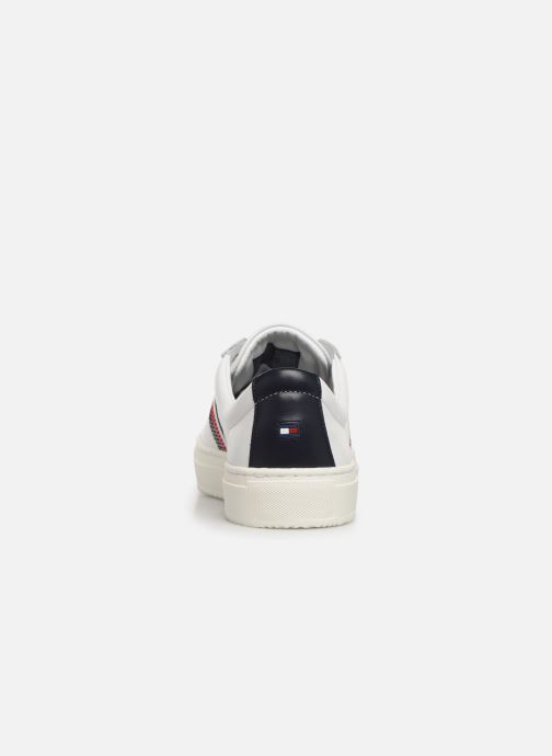 Sneakers Tommy Hilfiger CLEAN PREMIUM CORPORATE CUPSOLE Wit rechts