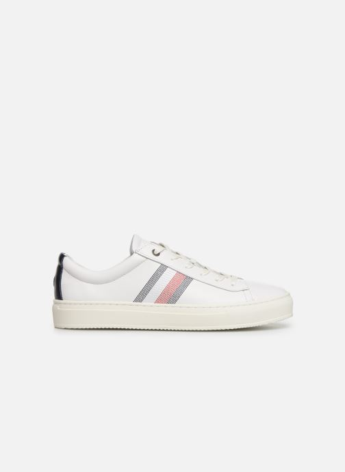 Sneakers Tommy Hilfiger CLEAN PREMIUM CORPORATE CUPSOLE Wit achterkant