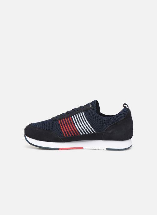 Sneakers Tommy Hilfiger EVA KNIT RUNNER Blå se forfra