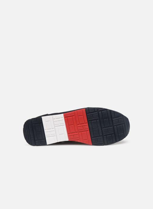 Sneakers Tommy Hilfiger EVA KNIT RUNNER Blå se foroven