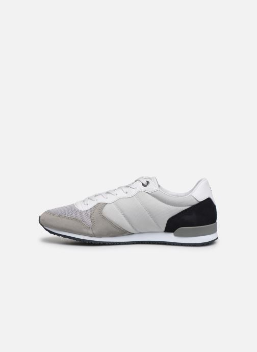 Baskets Tommy Hilfiger ICONIC MATERIAL MIX RUNNER Gris vue face