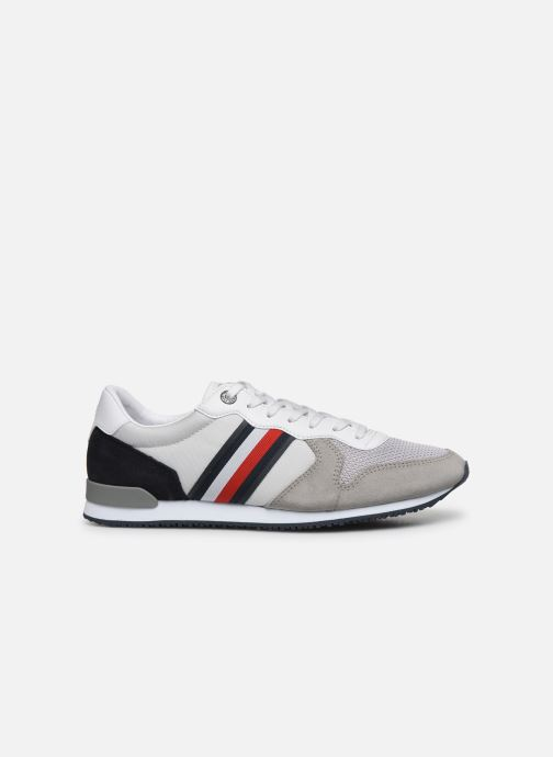 Trainers Tommy Hilfiger ICONIC MATERIAL MIX RUNNER Grey back view