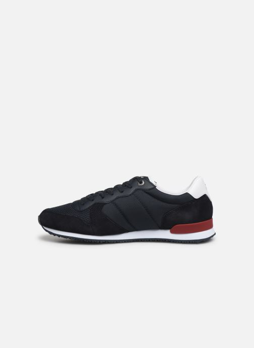 Sneakers Tommy Hilfiger ICONIC MATERIAL MIX RUNNER Azzurro immagine frontale