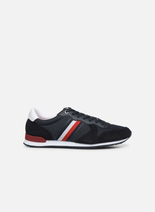 Sneakers Tommy Hilfiger ICONIC MATERIAL MIX RUNNER Azzurro immagine posteriore