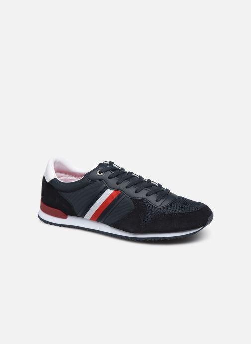 Sneakers Tommy Hilfiger ICONIC MATERIAL MIX RUNNER Azzurro vedi dettaglio/paio