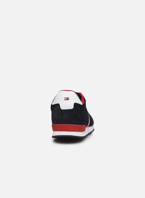 Sneaker Tommy Hilfiger ICONIC MATERIAL MIX RUNNER blau ansicht von rechts