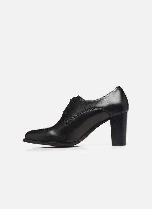 Chaussures à lacets Georgia Rose Suta Noir vue face