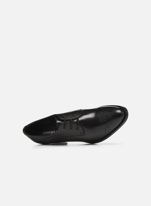 Chaussures à lacets Georgia Rose Suta Noir vue gauche
