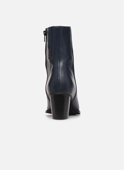 Bottines et boots Georgia Rose Sila Bleu vue droite