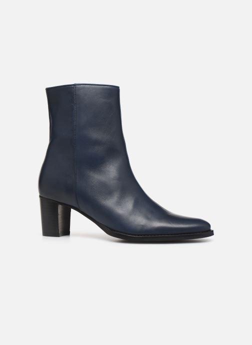 Bottines et boots Georgia Rose Sila Bleu vue derrière